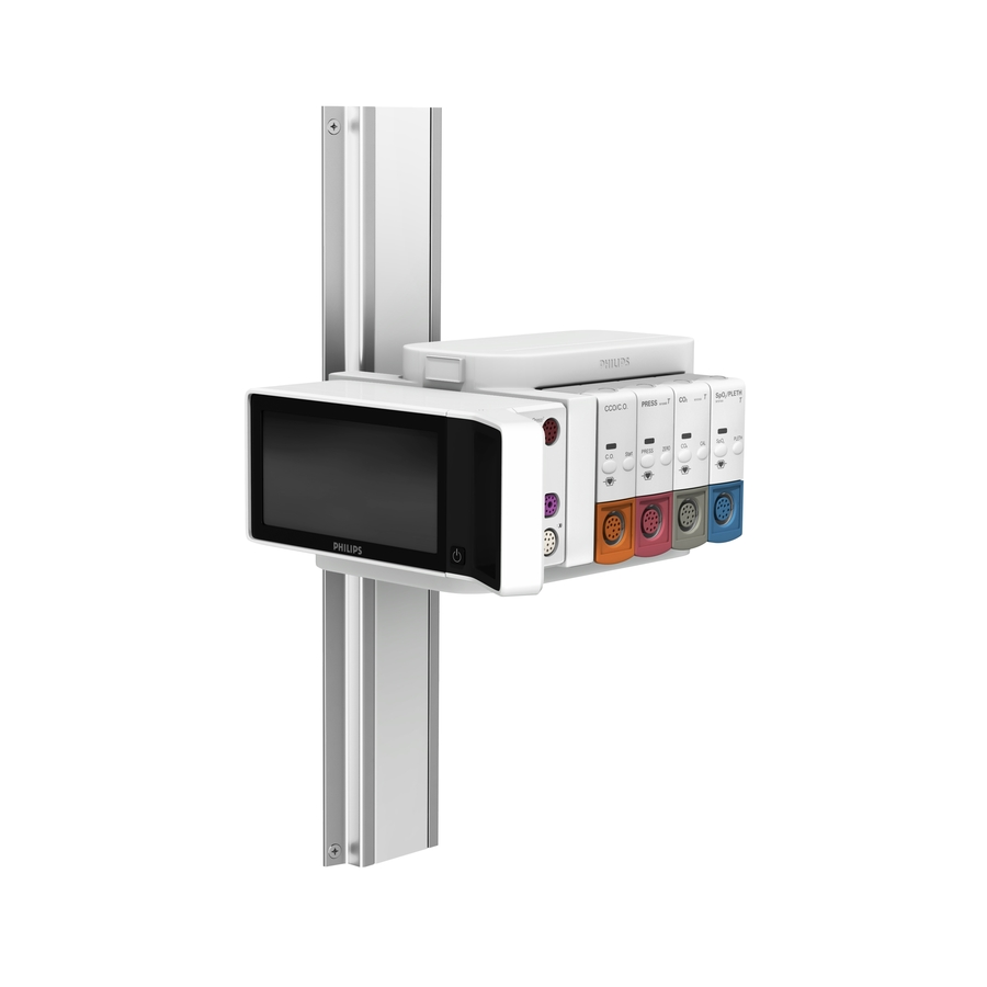 Philips IntelliVue X2/X3 and FMS Flush Channel Mount