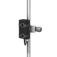 立柱上的 PRC 立柱/轨道夹具电源架