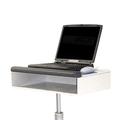 Plateau de base pour ordinateur portable avec baie de rangement