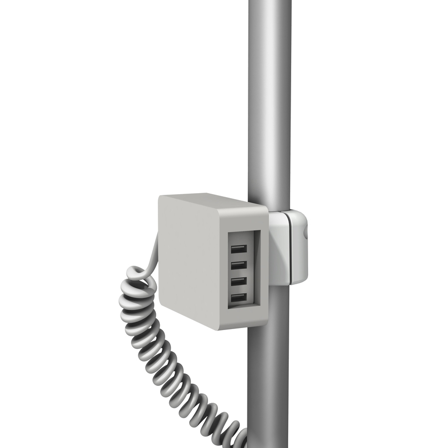 USB 0001 02 Coiled Post