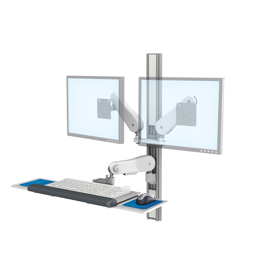 Vhm25 Butterfly Arm Keyboard Dual Monitors No CPU front Technical LG