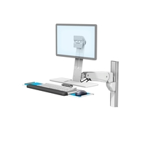 L Bracket Vhm P Keyboard Tray Writing Surface Vesa T