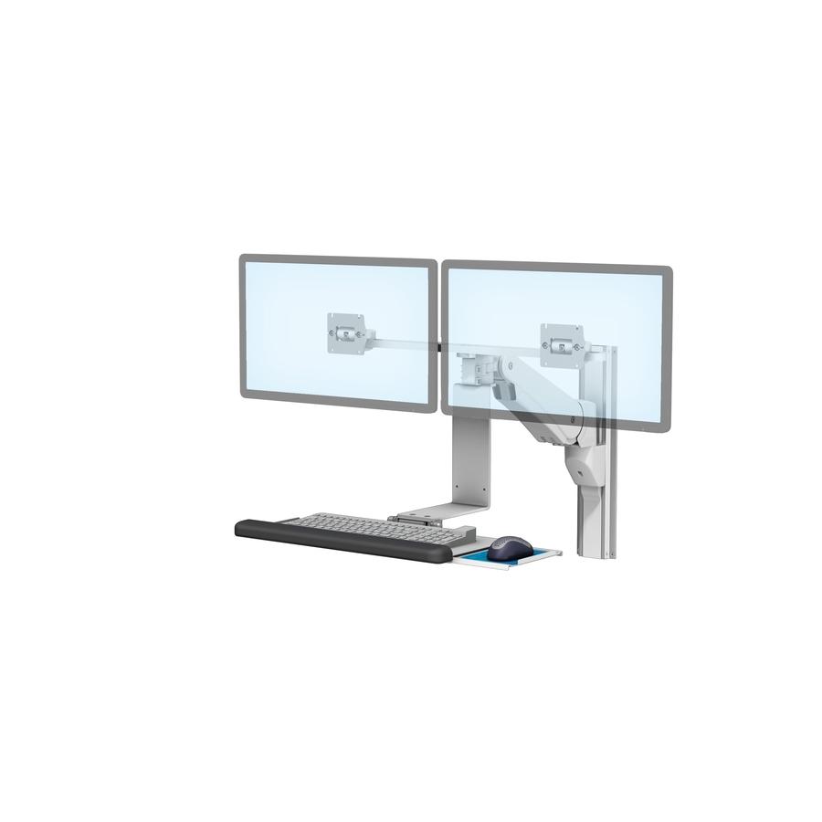 VHMP Side Dual Monitors Keyboard T