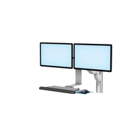 VHMP Side Dual Monitors Keyboard L