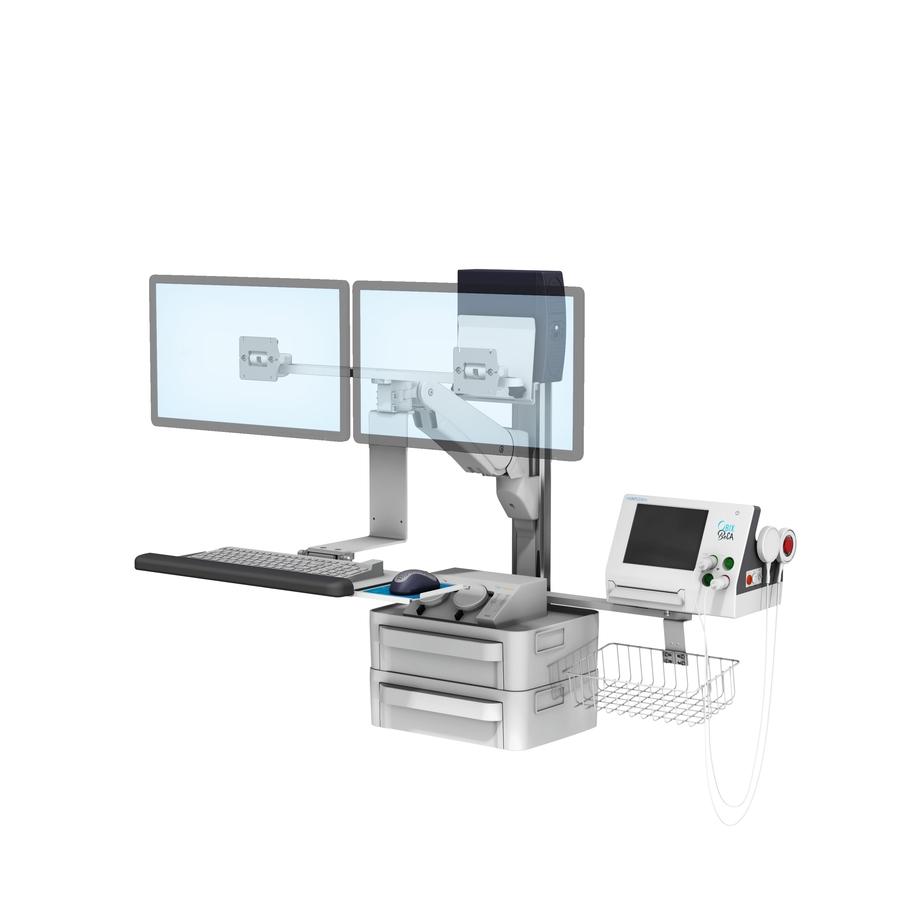 VHMP Side Dual Monitors Keyboard Obix Freedom T